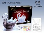 3д Crystal Puzzle Лебедь