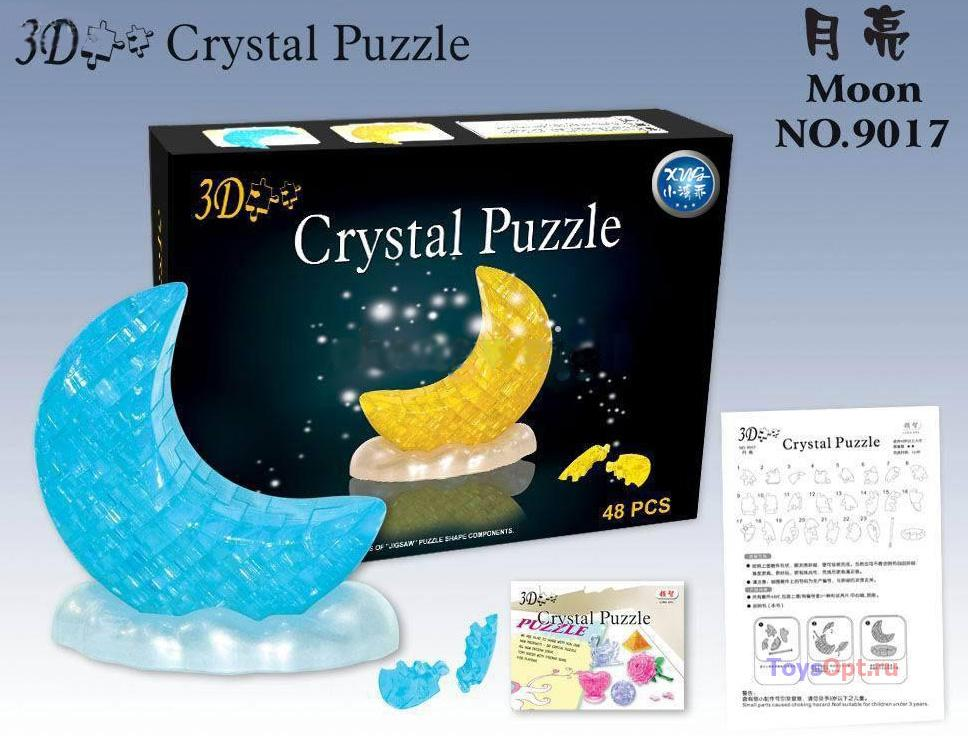 3д Crystal Puzzle Луна