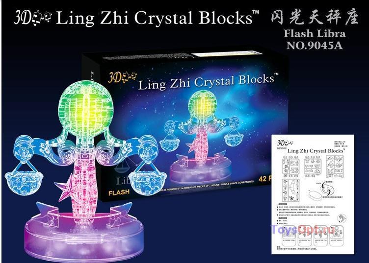 3д Crystal Puzzle Зодиак Весы