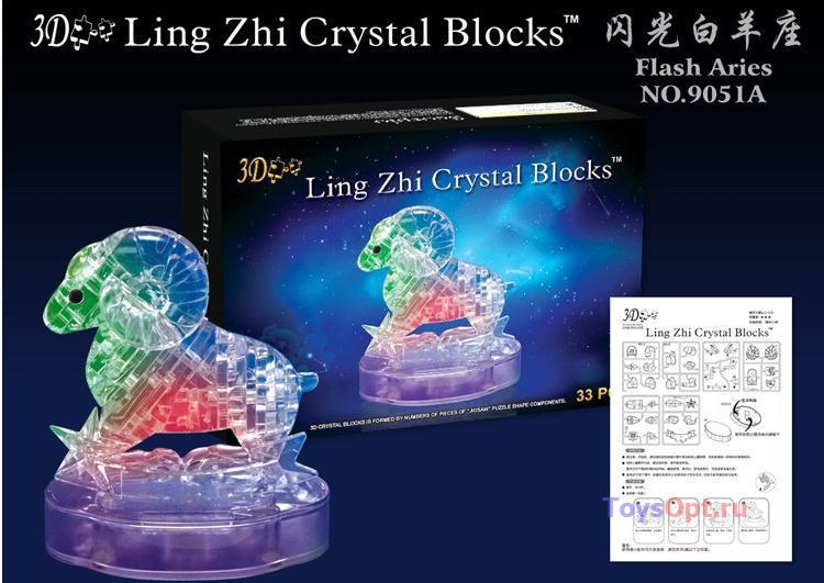 3д Crystal Puzzle Зодиак Овен
